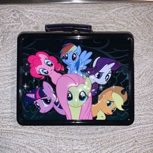 My Little Pony Metal Lunchbox 2013